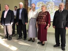 Праздничный концерт посвящённый Дню защитника Отечества с участием группы «Ретро»