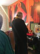 Проведение исповеди и причастия  от храма Рождества Христова