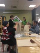 Мастер-класс по изготовлению меловой доски от сети магазинов Леруа Мерлен