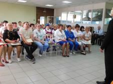 Праздничный концерт посвященный  Дню социального работника, с участием студентов колледжа искусств имени В.П. Иванова-Радкевича