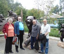 Посещение парка флоры и фауны «Роев ручей»