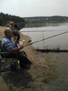 Рыбалка на озере Таскино