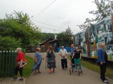 Посещение мемориального комплекса Виктора Петровича Астафьева в Овсянке